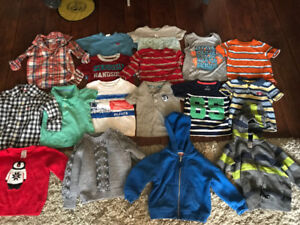 12 month baby boy tops