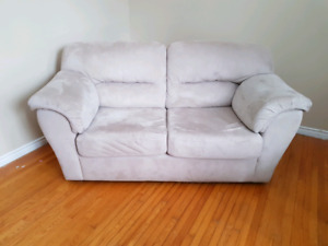 Loveseat and Matching Chair - Oversized