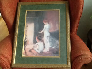 "Paul Peel's ""After the Bath"" professionally exquisite framing St. John's Newfoundland image 3"