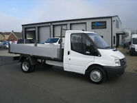 Ford Transit T350 MWB 2.4 TDCI 100ps Brand New Tipper body