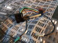 MK5 Golf aftermarket radio wiring harness adapter