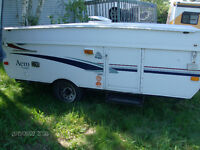 2002 AERO HARDTOP CAMPER NEEDS CABLE REPLACED $650 OBO
