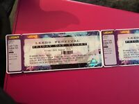 Two Friday Entry Leeds Festival Tickets 2016