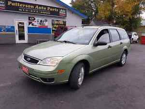 2007 ford focus wagon 159k good body  certified etested
