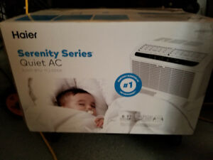 Haier Serenity Series Quiet Air conditioner 8000 btu new