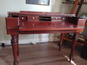 Old Style Convertible Writing Desk