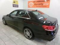 BLACK MERCEDES-BENZ E CLASS 2.1 E250 CDI AMG SPORT **from £393 per month**