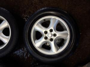 4 roues été 16 pouces pour ford taurus avec pneus Michelin 215/6
