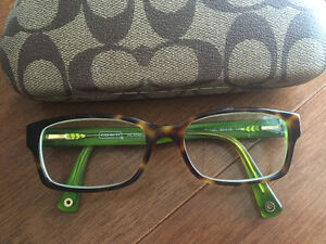 Gorgeous NEW $230 COACH frames/glasses