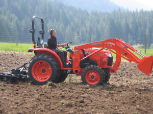 38 Hp Kubota Tractor for sale