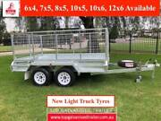 10x6 HEAVY DUTY TANDEM TRAILER BRAKED HOT DIP GALVANISED ATM2000K Heathmont Maroondah Area Preview