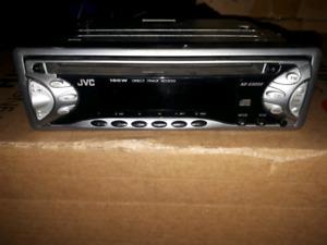 JVC AM/ FM/ CD stereo system,