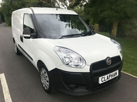 2015 15 FIAT DOBLO MULTIJET 1.6TD 105BHP EURO5 1 COMPANY OWNER ONLY 13,000 MILES