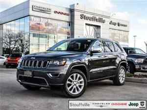2017 Jeep Grand Cherokee Limited, Navigation, Sunroof, 20 Alloys