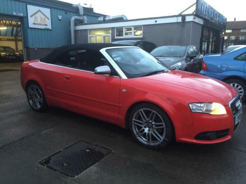 2008 audi a4 cabriolet 2 0 tfsi s line 2dr in walsall. Black Bedroom Furniture Sets. Home Design Ideas