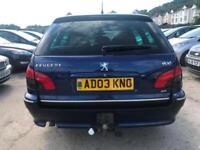 2003 03 Peugeot 406 2.2HDi 136 ( Sat Nav ) 2003MY Executive Turbo Diesel 5 Speed