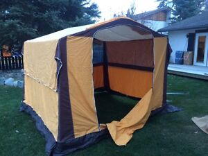 Pathfinder tent with aluminum frame