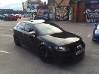 2007 Audi S3 2.0 TFSI Quattro buckets seats sunroof sat NAV Miltek HPI clear NOT Subaru wrx St3 Gti