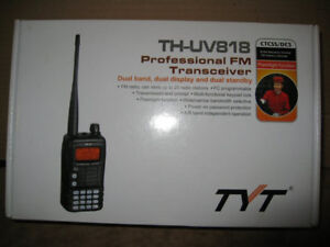 TYT TH-UV818 5 watt ht dual band BRAND NEW HAM RADIO CB RADIO