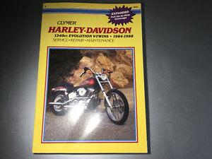 1984-88 Harley-Davidson 1340 Evolution V-Twin Manual FX FXR FLT