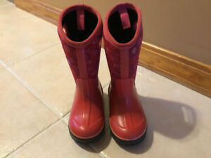 Little Girls Bogs size 11