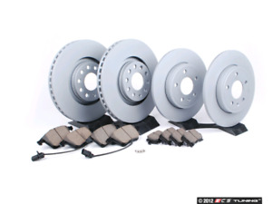 BMW 335 rotors and pads Zimmerman new front and rear