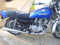 1978 Suzuki GS 750 - Project bike/Cafe Racer