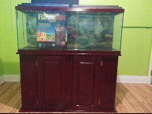 Aquarium 48 gallons avec très bon filtreur