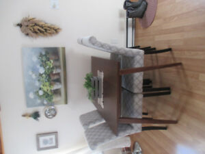 DiningTable and Four Chairs  $325.