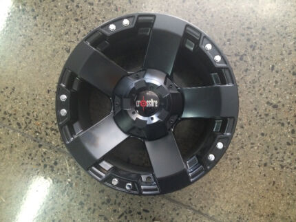 "BRAND NEW 17"" ROCKWELL WHEELS SUIT JEEP JK WRANGLER VW AMAROK Preston Darebin Area Preview"