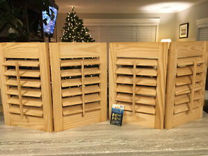 Pine Louver Shutters