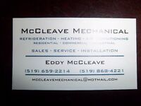 MCCLEAVE MECHANICAL SERVICES
