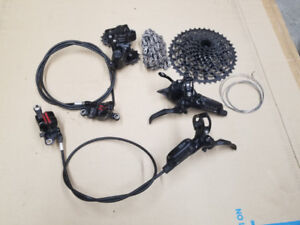 SRAM X1 Drivetrain and Guide RS brakeset