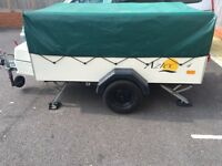 Excellent condition trailer tent and awning