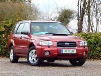 2003 53 SUBARU FORESTER 2.0 XT TURBO 5D 177 BHP