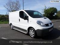 RENAULT TRAFIC SL27 DCI Automatic F.S.H Low Miles Aircon Bluetooth, White, Auto,
