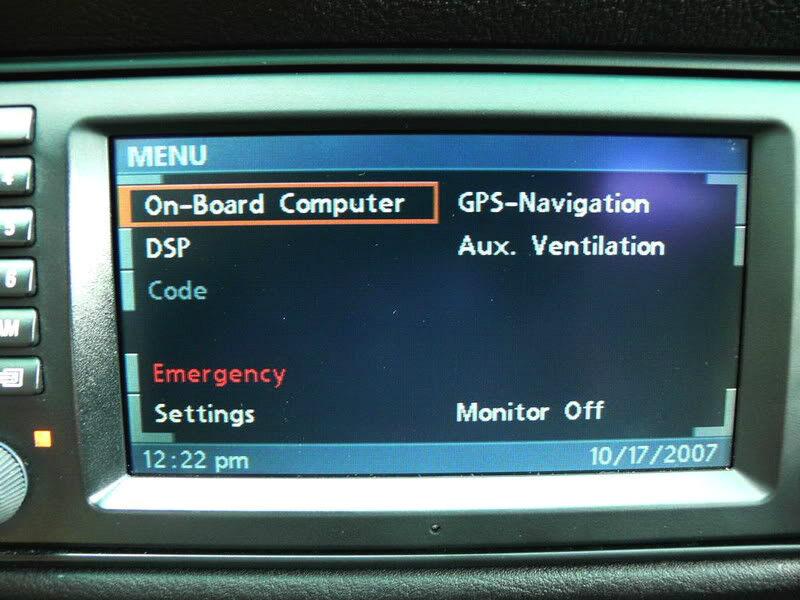 bmw navigation 16 9 monitor e38 740i e39 m5 e53 x5 1999. Black Bedroom Furniture Sets. Home Design Ideas