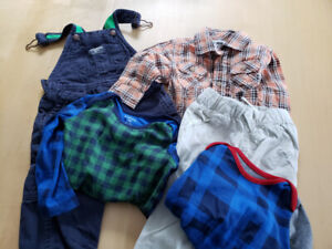 Assorted 12 month boys clothing