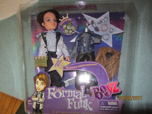 Formal Funk Koby Boy Barbie Doll + accessories. BRAND NEW