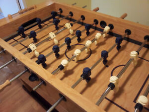 Used Fooseball table and Pool Table