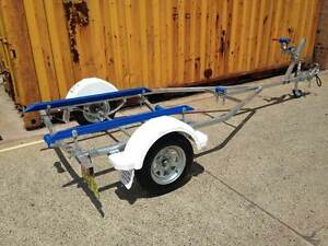 12FT model boat trailer REGISTERED-suits boats up to 4.0m Mortdale Hurstville Area Preview