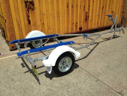 12FT model boat trailer REGISTERED-suits boats up to 4.0 metres Mortdale Hurstville Area Preview