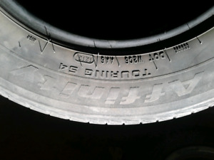 4 summer tires p195/65r15 affinity touring