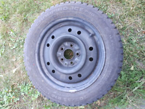 Mazda 3 winter tires and rims 205 55 16
