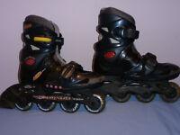 patins roues alignées enfant