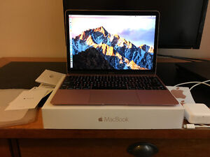 "Rose Gold 12"" Macbook 256GB"