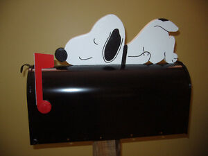 Boite aux lettres Snoopy relax