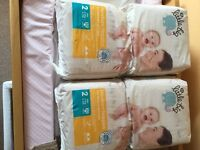 Morrisons little big size 2 nappies (2 packs - 64 nappies in total)