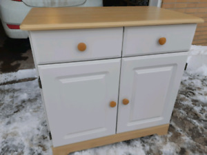 Microwave cabinet ( delivery available)