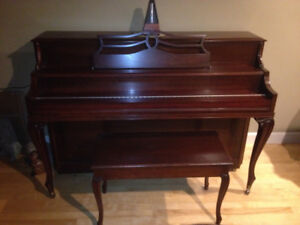 Willis (Trianon) Upright Piano and Bench